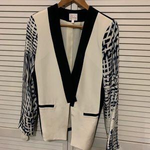 Parker silk jacket